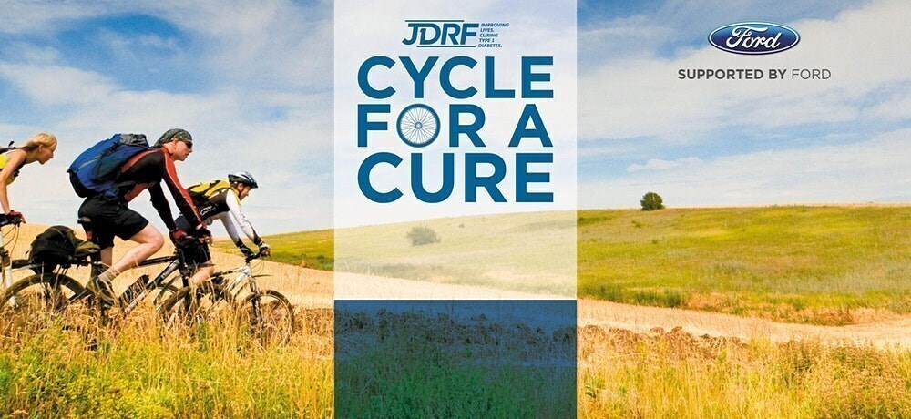 JDRF Virtual Cycle for a Cure 2020: Supported by Ford